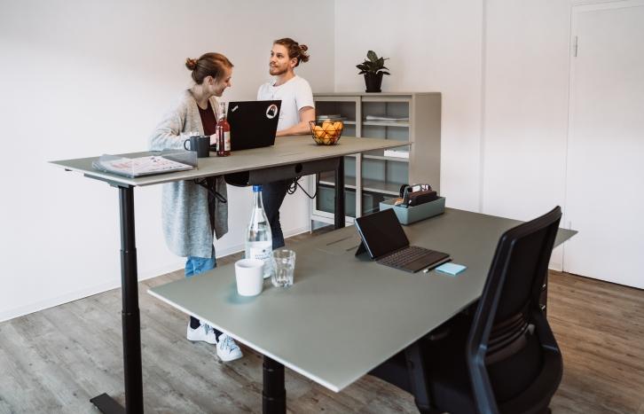 WORQS Coworking Raumanfrage